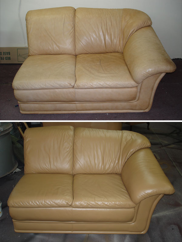 Refinish Leather Sofa St Louis Leather Repair Louis Mo